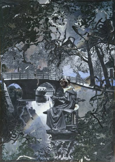 Kunst Postkarte