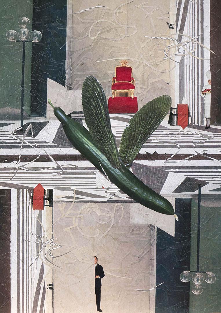The Flying Cucumber-Mores Rabenstern-klein
